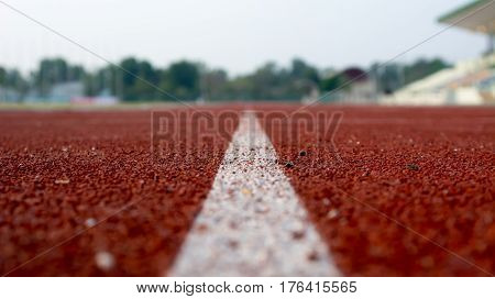 Ground Running, run, running track, run and track ** Note: Shallow depth of field