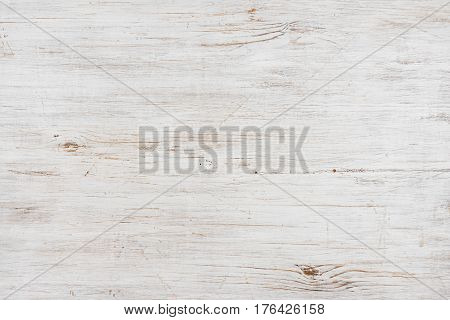 Handmade bleached wooden texture background horizontally oriented image