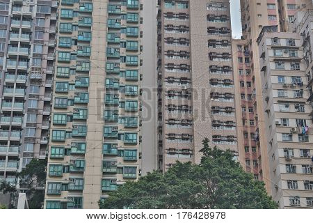 Middle Class District At  Sai Wan