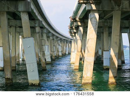 Two Bridges In The Florida Keys