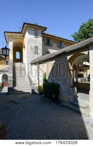 Sacro Monte Of Varallo Holy Mountain, Italy