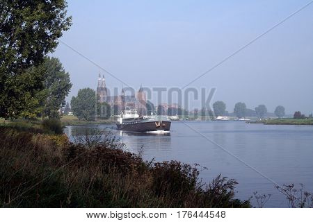 Cuijck Is Situated On The Left Bank Of The River Maas