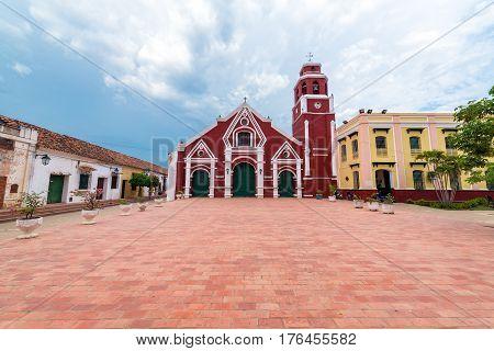 San Francisco Church In Mompox, Colombia