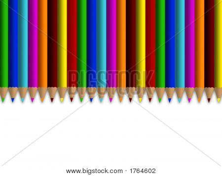 Colour Pencils Line