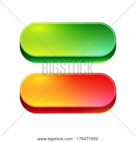 Bright Beautiful Buttons For Websites And Applications.