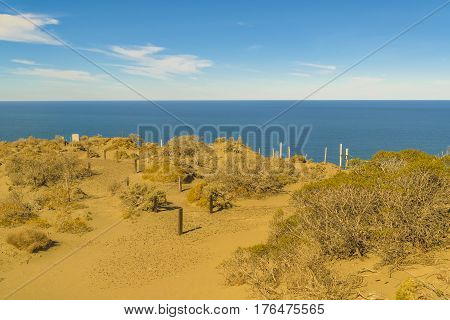 Punta Del Marquez Viewpoint, Chubut, Argentina