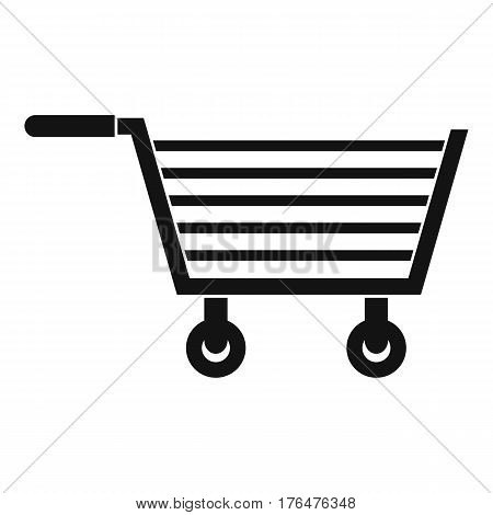Online shopping icon. Simple illustration of online shopping vector icon for web