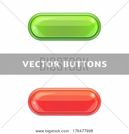 Beautiful Bright Buttons For Applications And Web Sites.