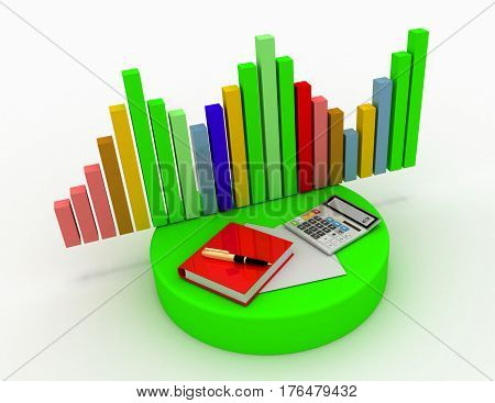 Accounting - Business calculation in the design of information related to business and economy