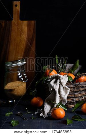 fruit, orange, tangerine, citrus, acid, mandarin, ripe, fresh, juicy, dessert, exotic, garden, harvest, healthy, juice, leaf, natural, nature, picked, organic, pile, raw, refreshing, sweet, tropical, wooden, appetizing, diet, background, meal, vitamin, cl