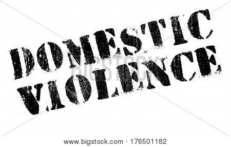 Domestic Violence stamp. Grunge design with dust scratches. Effects can be easily removed for a clean, crisp look. Color is easily changed.