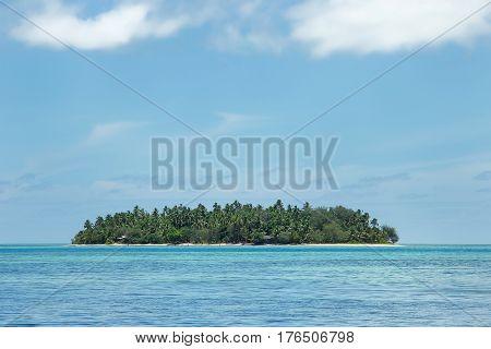 Small Island Off The Coast Of Tongatapu Island In Tonga