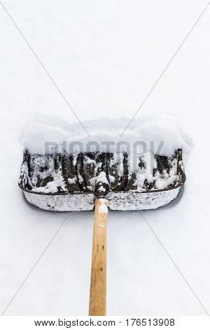 Large Snow Removal Shovel