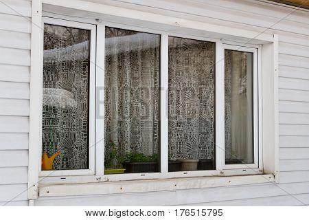 Large Plastic Window