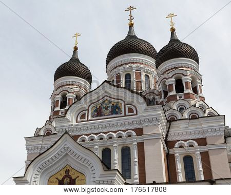 Image of Alexander Nevsky Cathedral in Tallinn, Estonia