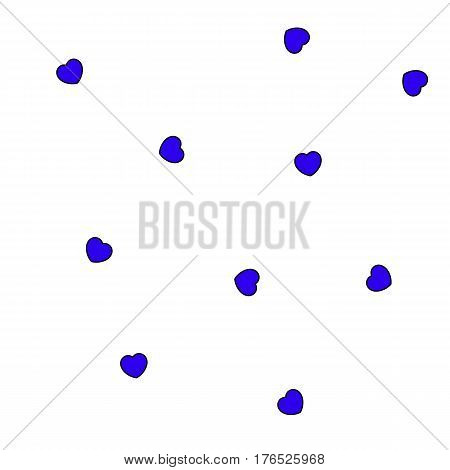 Love Shapes For Saint Valentines Day, High Definition Decoration