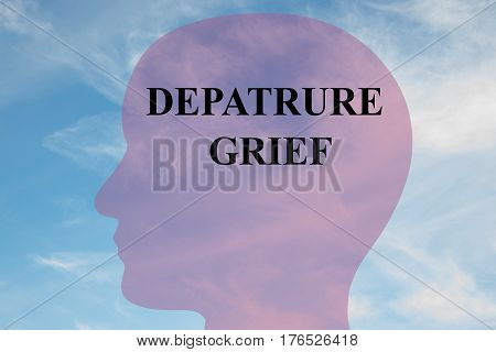 Departure Grief - Mental Concept