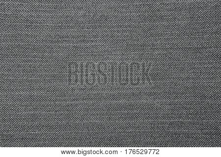 Grey Herringbone Fabric Pattern Texture Background