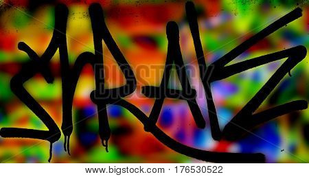 Abstract symbols, abstract background, abstract patterns. Art