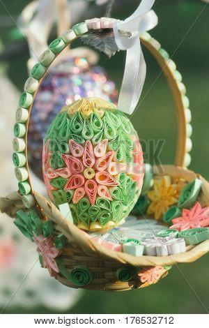 Easter Decor Basket