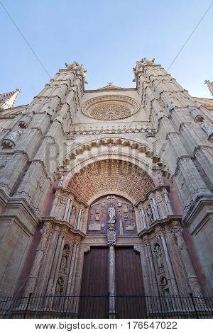 Cathedral La Seu Exterior