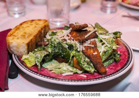 a meal served at a retirement luncheon