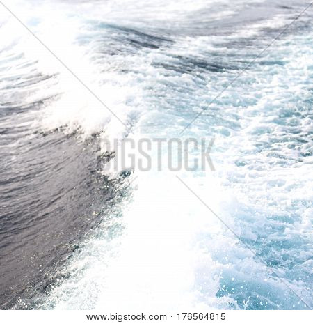 Abstract Blur Background Of The Pacific Ocean