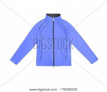Women's Training Sports Jacket; Isolated On White Background