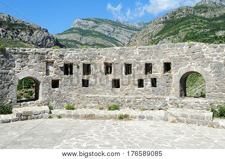 The Archaeological Site Of Stari Bar