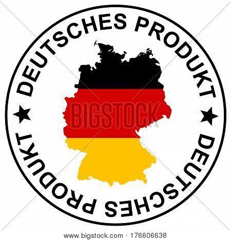 Patch German Goods (in German)