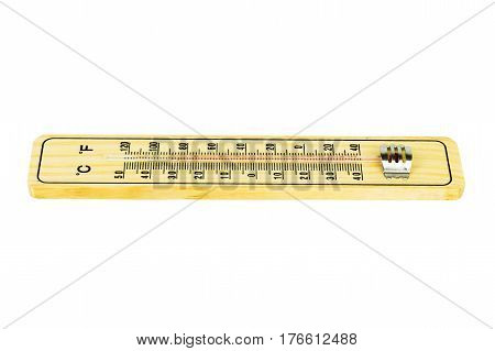 Thermometer Isolated on white background with Clipping path.