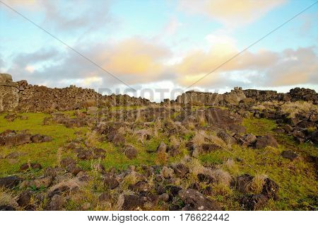 Coasts Around Easter Island
