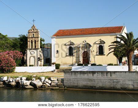 Church of Saint Harlampiya (1729) on the island of Zante. Greece