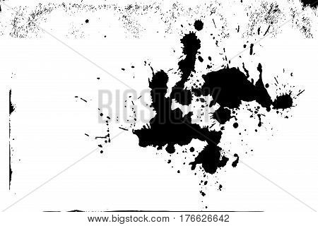 Paint Splash Isolated Texture Background Design