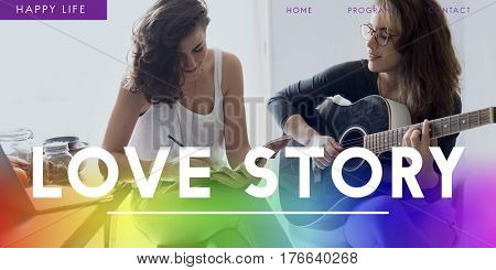 Love Story Family Relationship Concept