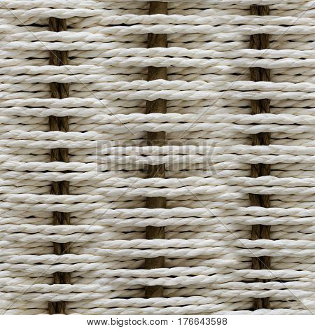 Seamless pattern of tree branches intertwined. Textures for design. Rattan. Furniture.