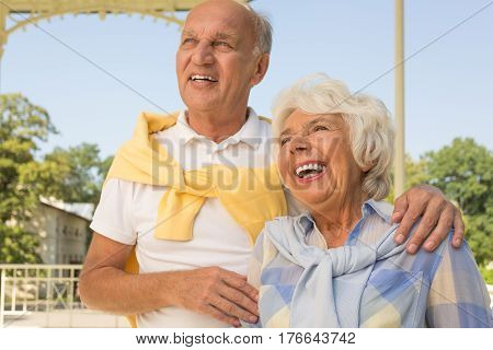 Mature Marriage At Park Pergola