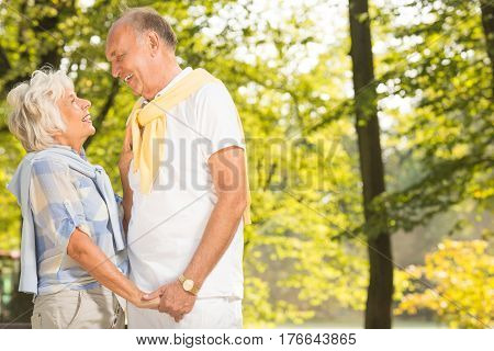 Mature Marriage In The Park