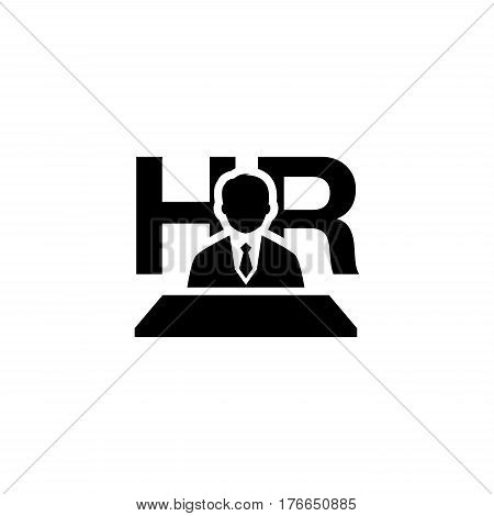 Recruitment Icon. Flat Design. Business Concept Isolated Illustration