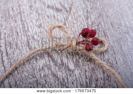 Thread Knot On A Light Color Background