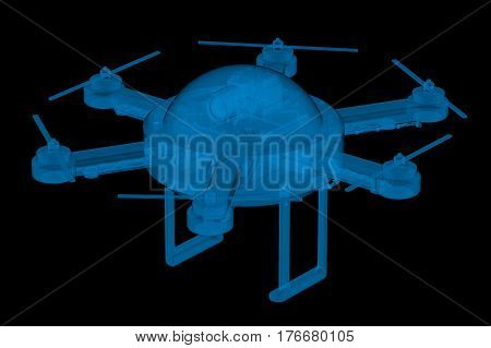 X Ray Drone