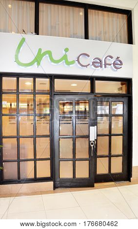 Unicafe Entrance