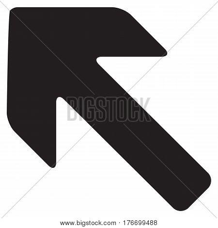Arrow Left vector icon aiming arrow arrowhead back