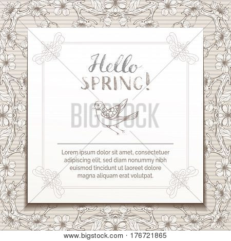 Hello Spring Template.
