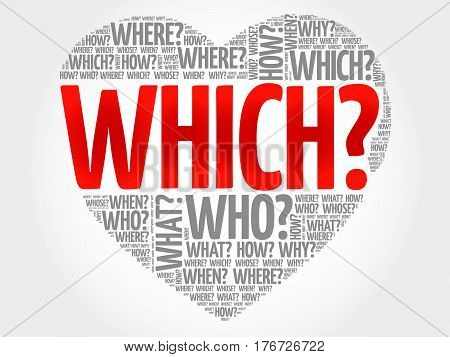 Which? Question Heart