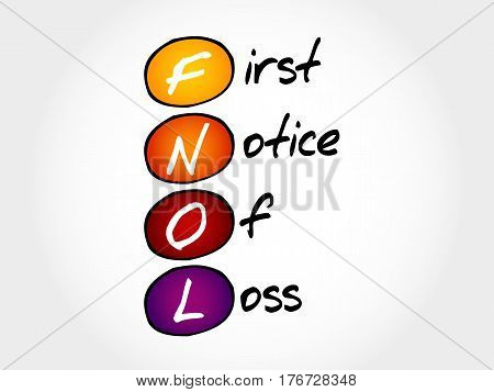 Fnol - First Notice Of Loss