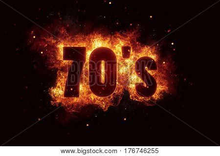 70s party disco background fire flames hot explosion explode