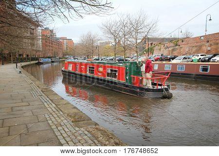 England Narrowboat