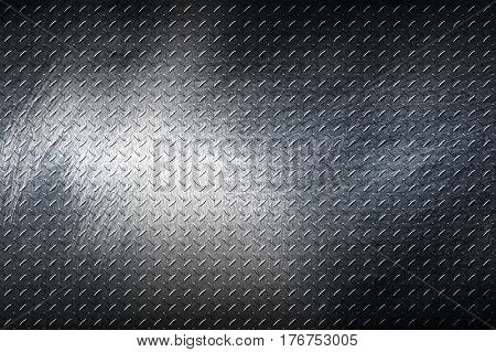 Grunge Metal Background.