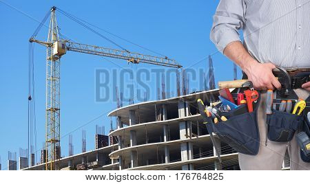 Mature Contractor And Hoisting Crane